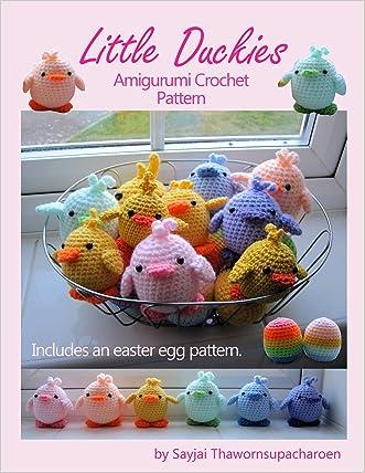 Little Duckies Amigurumi Crochet Pattern (Easy Crochet Doll Patterns Book 9) written by Sayjai Thawornsupacharoen