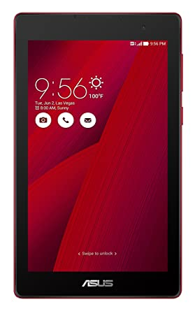Asus Z170CG Tablet (7 inch, 8GB, Wi-Fi+3G+Voice Calling), Glamour Red