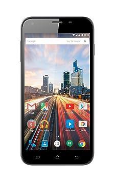 Archos 55 Helium Plus Smartphone débloqué 4G (Ecran: 5,5 pouces - 8 Go - Double SIM - Android) Noir