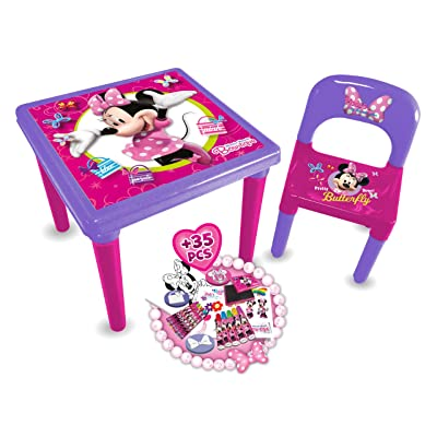 DISNEY Minnie Mouse Bow-tique My First Activity Table and Creative Set