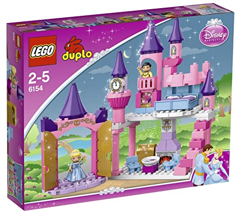 Lego Duplo Princesse - 6154 - Jouet d'Eveil - Le Château de Cendrillon