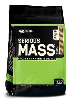 Serious Mass 12 lbs (5443g) EU Schokolade und Erdnussbutter