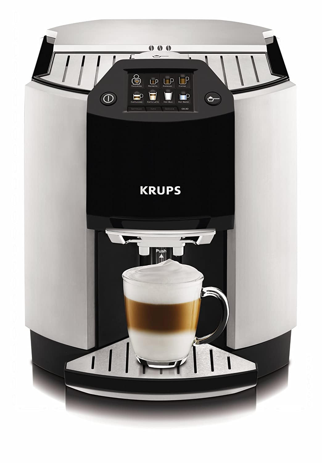 Krups Km9008 Cup On Request Programmable 12 Cup Coffee Maker