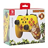 Super Mario Edition Wired Controller for Nintendo Switch - Donkey Kong (Color: DONKEY KONG)