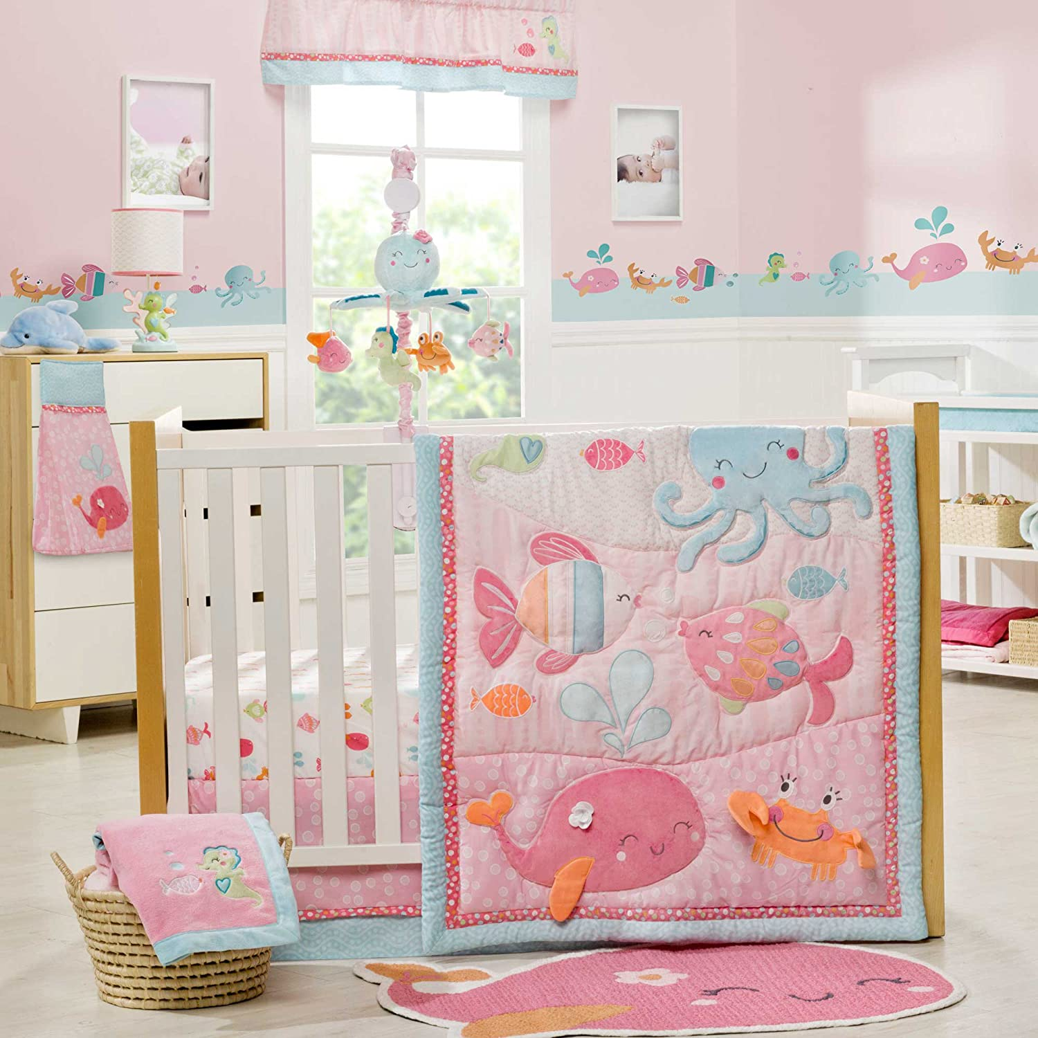 Under the Sea 4 Piece Baby Crib Bedding Set by Carters