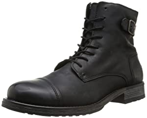 Jack & Jones Jj Siti Leather Boot Prm, Boots homme   Commentaires en ligne plus informations