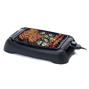 MaxiMatic EGL-3450 Elite Cuisine 13-Inch Countertop Non-Stick Grill