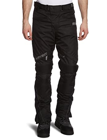 Traveller-K Germas 515.01 Touring Pantalon avec Membrane amovible (court)-Noir