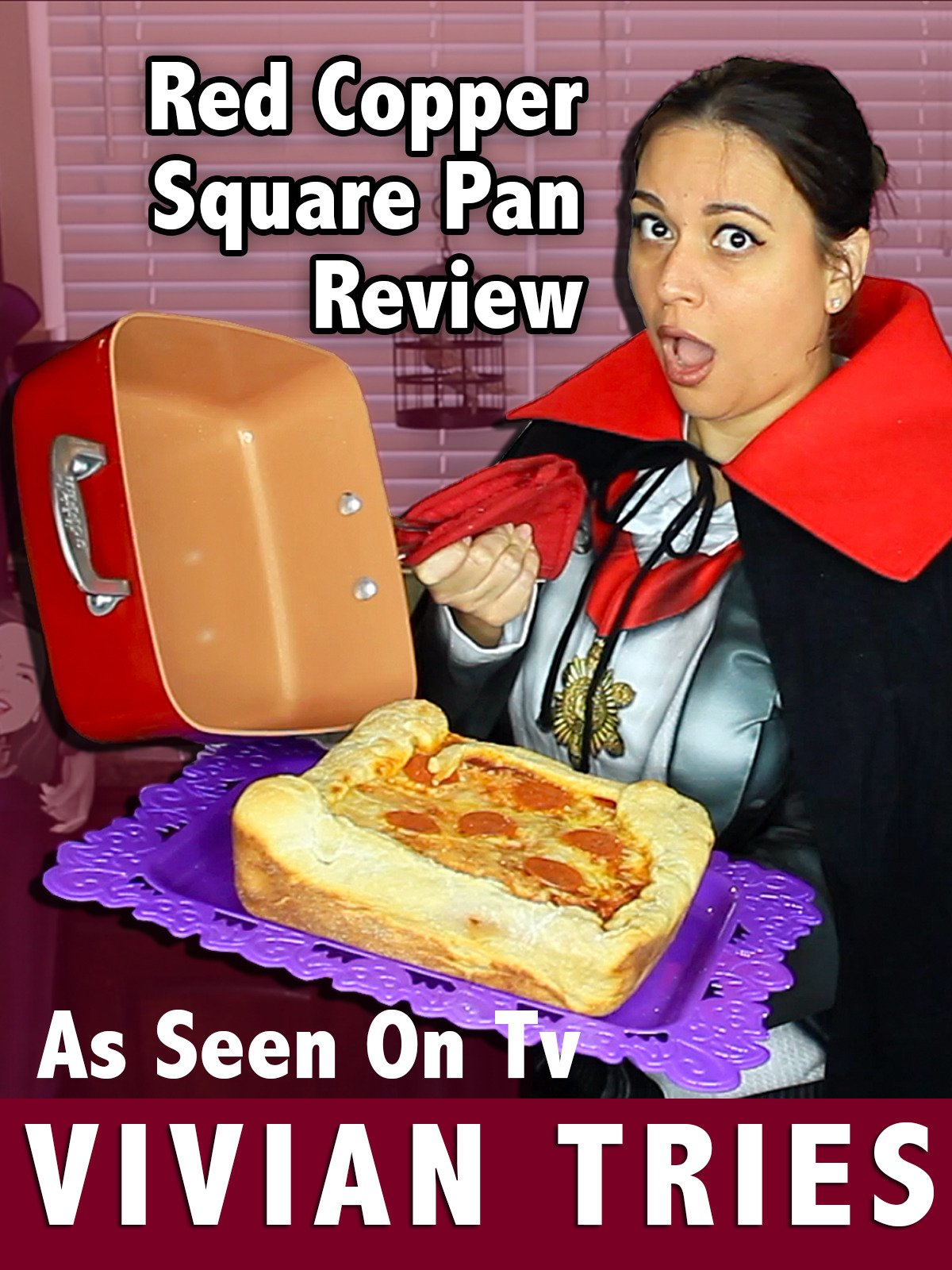 Review: Red Copper Square Pan Review: As Seen On Tv