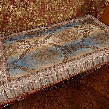 Sofá de estilo europeo Cojín de tela Sofá de moda Cojines de toalla Antideslizante Four Seasons ( Tamaño : 90*240cm )