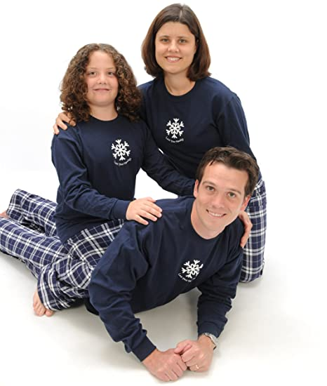 Love Your Family Winter Snowflake Holiday Clothing Set; Choose Kids or Adult