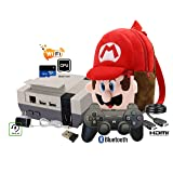 Mini NES Styled Classic preloaded Game Entertainment System Emulator RecalBox Over 10000 Games with 8BitDo Controller HDMI Video TV Game System 720P Kit Raspberry Pi 3 B Retro Gaming