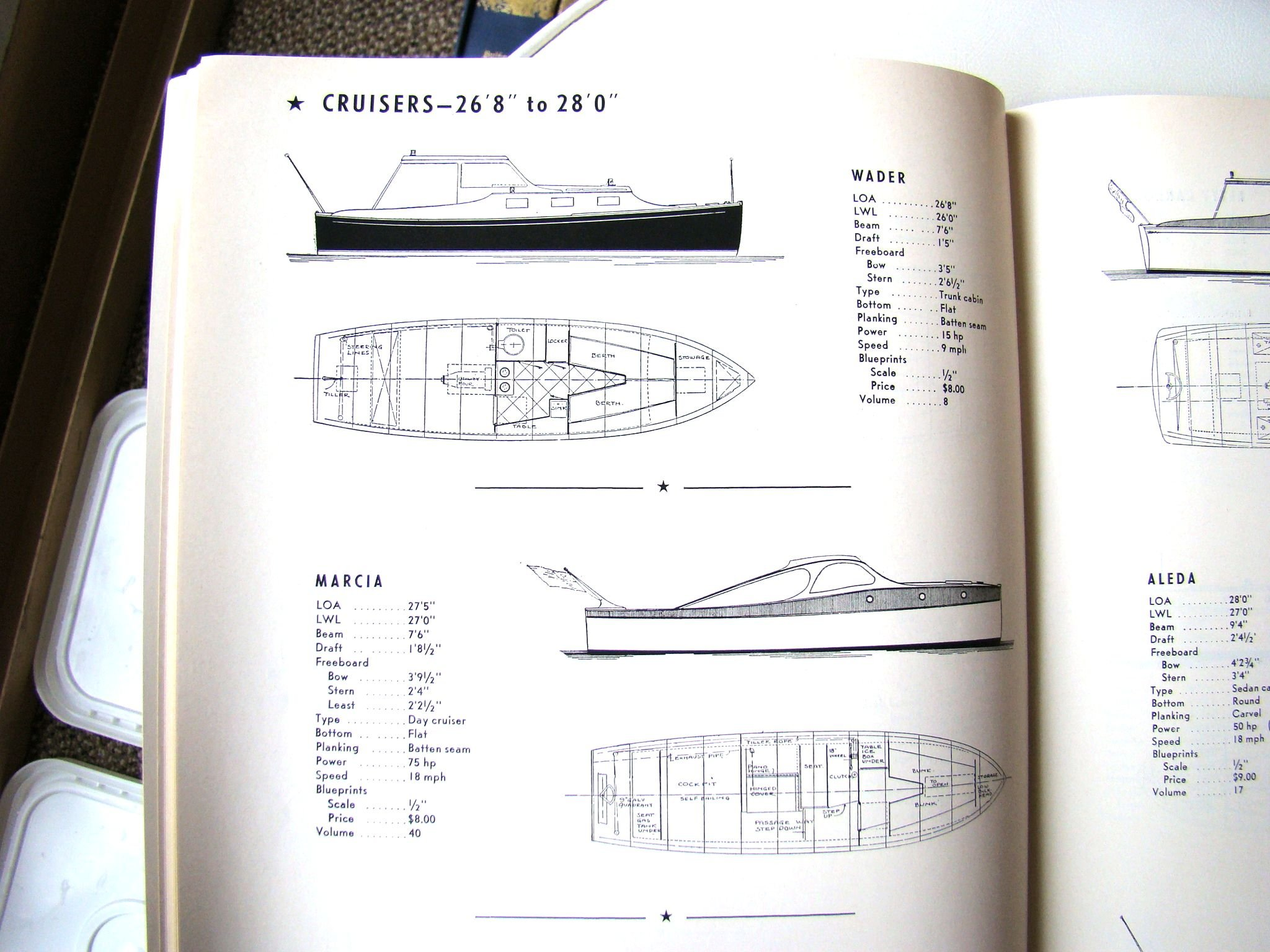 Build Your Boat Part 1 - 269 Designs for Utility Boats, Cruisers and Runabouts, Both inboard and Outboard-Powered, and Small Dinghies and Rowboats (Volume 42), Staff