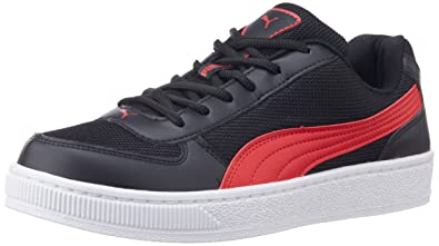 Puma Red And Black Sneakers