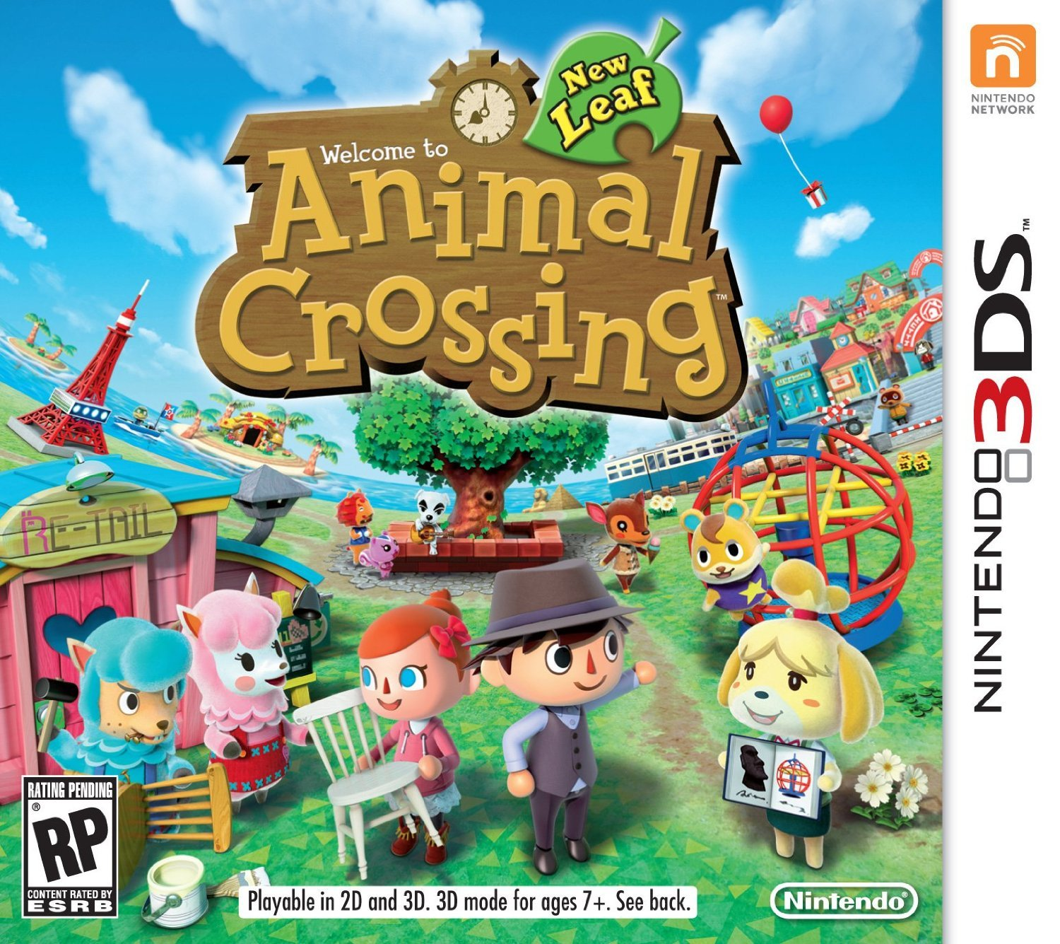 Animal Crossing New Leaf at Amazon.com