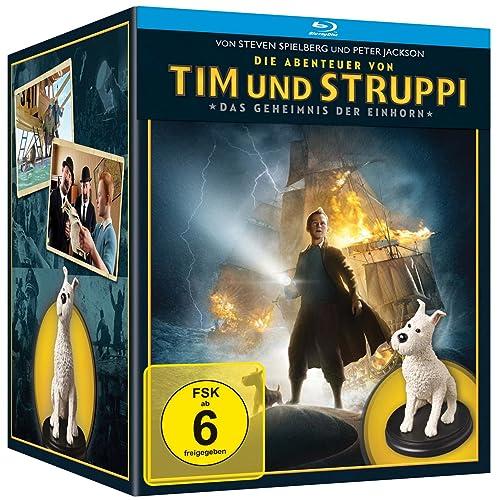 Die Abenteuer von Tim & Struppi - Das Geheimnis der Einhorn (Limited Fine Art Collectible Boxset)