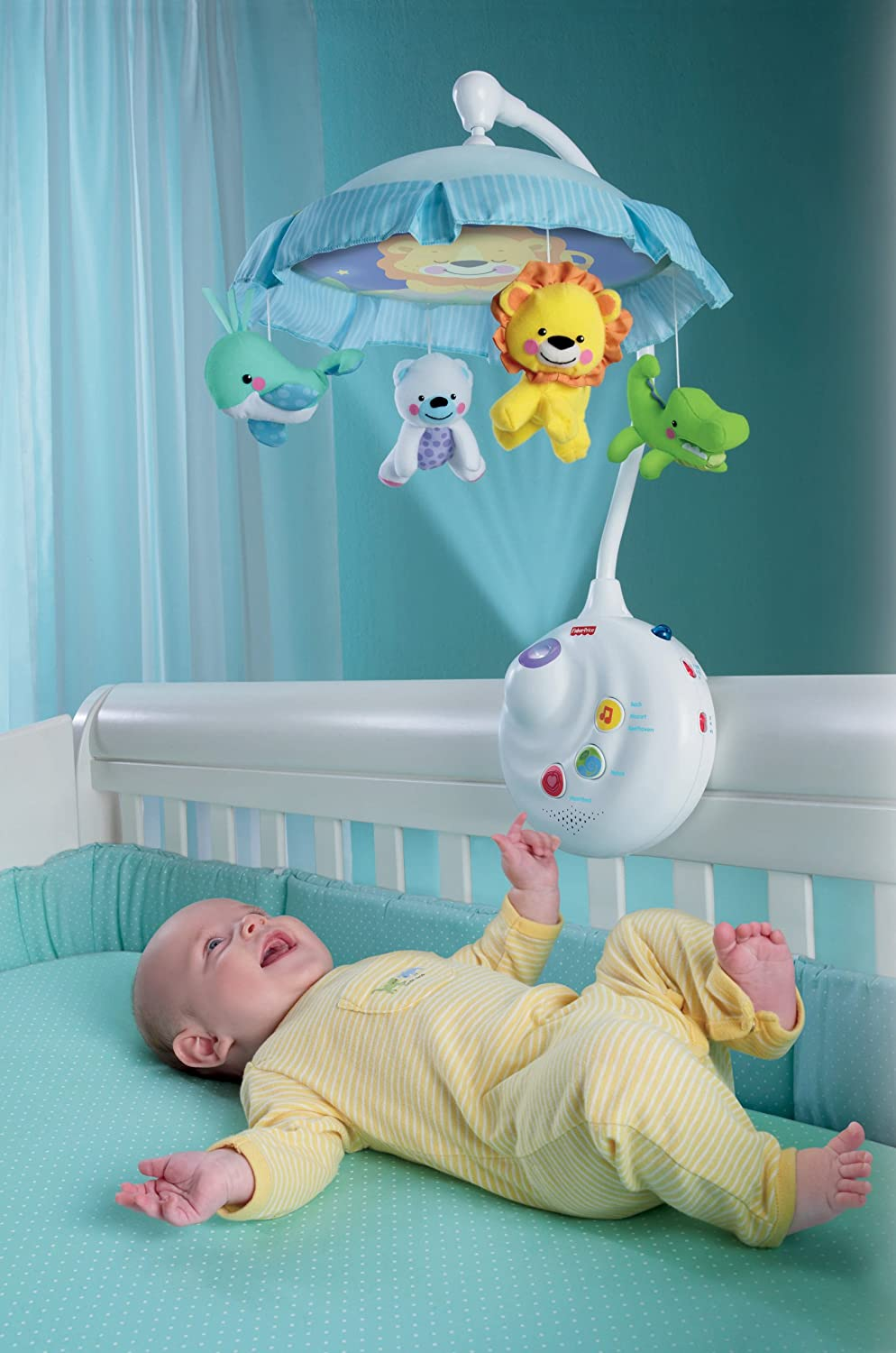 Fisher Price 2 in 1 Projection Mobile Precious Planet