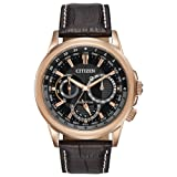 Citizen Men's Eco-Drive Stainless Steel Watch with Day/Date, BU2023-04E (Color: Gold Tone Stainless Steel)