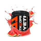 MTN OPS Yeti Monster Pre-Workout Powder Energy Drink 30-Serving Tub, Watermelon