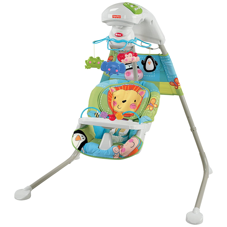 AMAZON.TV.BR. Balancinho de bebê Fisher Price Discover 'n Grow Cradle  #AC261F 1500x1500