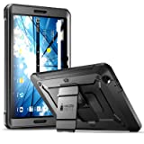 AT&T Primetime Tablet Case, SUPCASE [Heavy Duty] [Unicorn Beetle PRO Series] Full-Body Rugged Protective Case with Built-in Screen Protector for AT&T/ZTE K92 Primetime 2017 (Black) (Color: Black)
