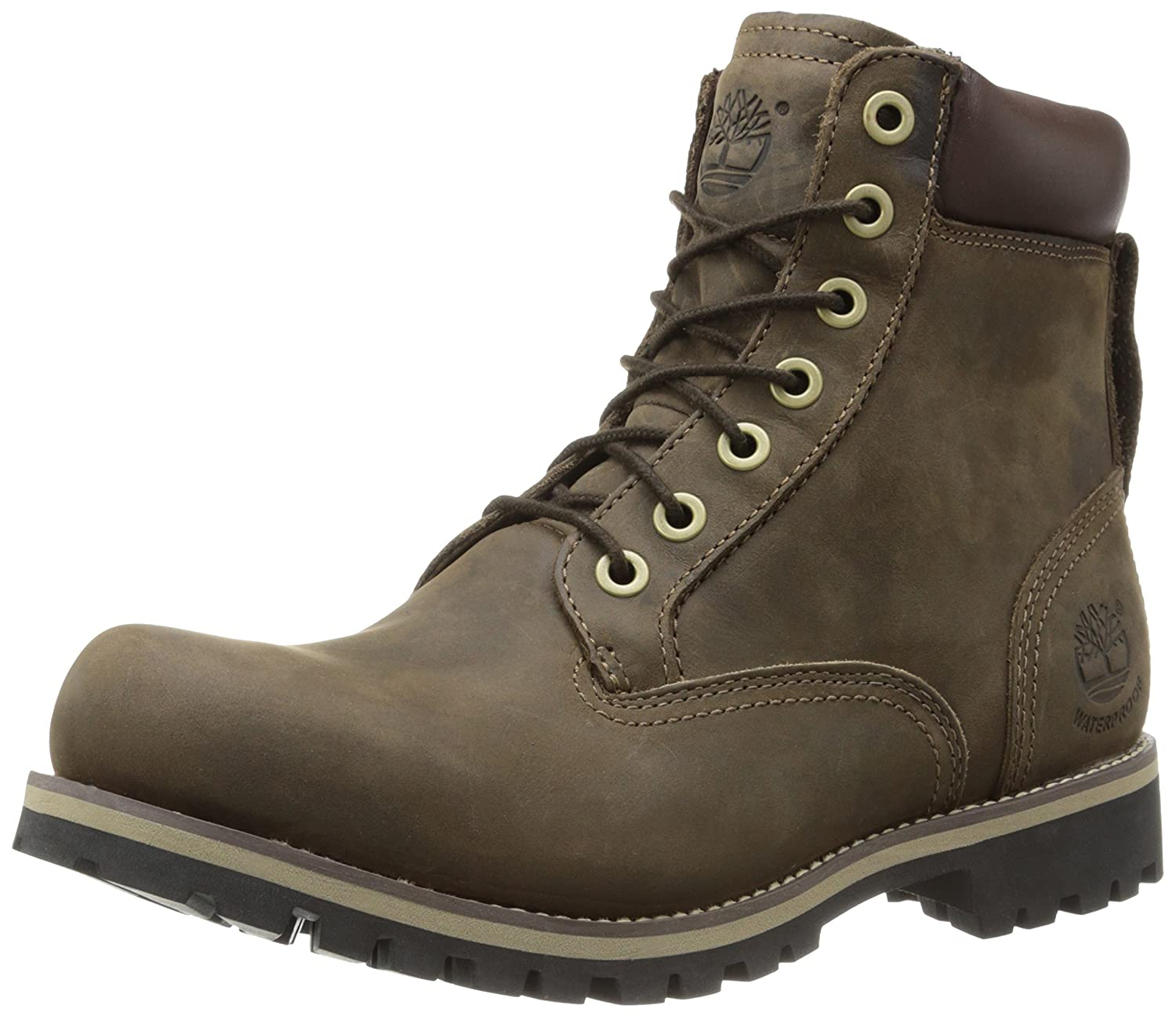 Timberland Men S Earthkeepers Rugged 6 Inch Boot Dark
