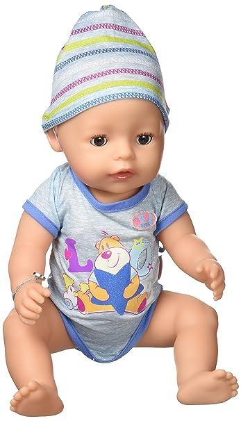 Poupée garçon interactif Zapf Baby Born