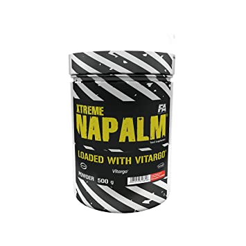 FA Nutrition Xtreme Napalm Loaded with Vitargo - 500g - Watermelon - Pre-workout booster