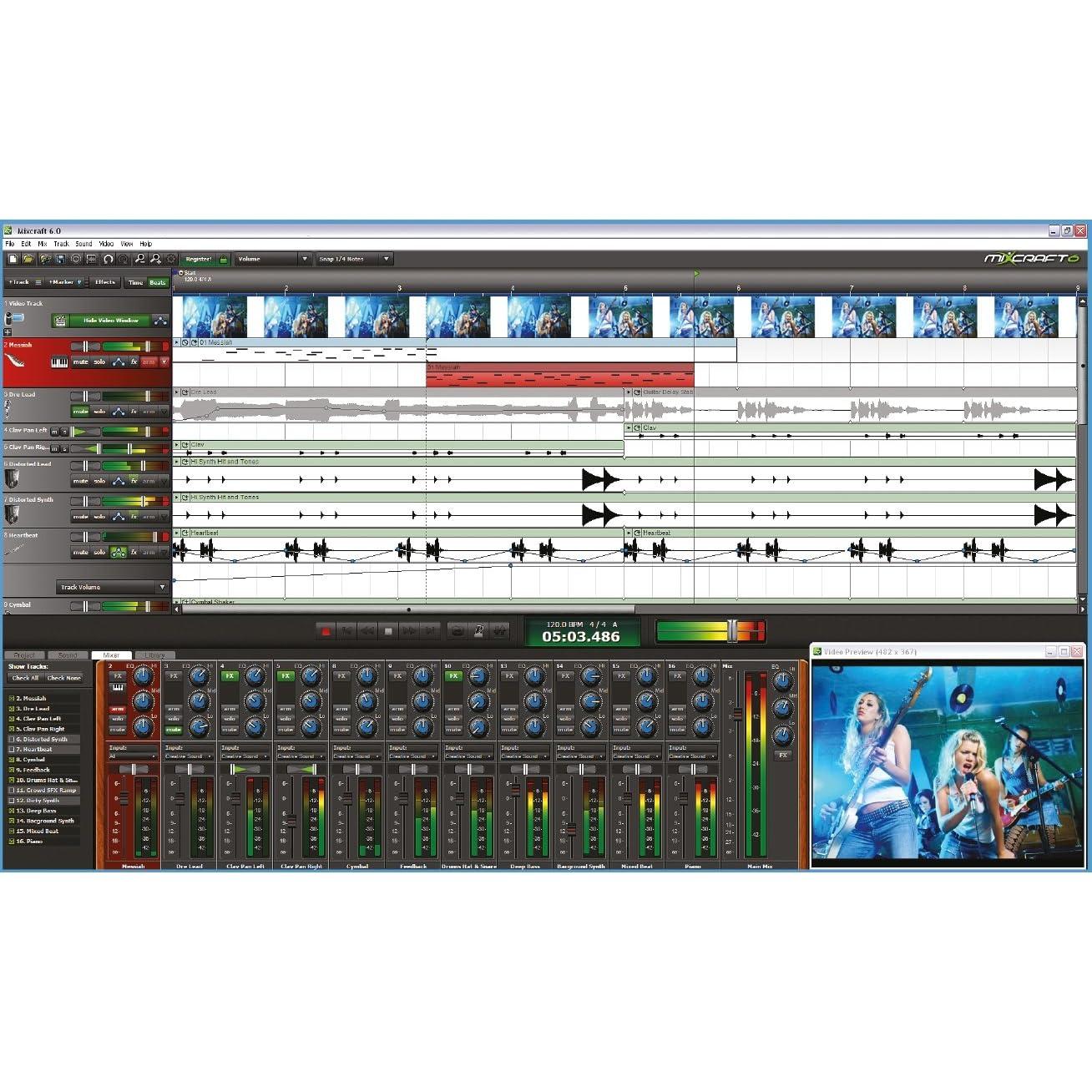 Mixcraft.v6.0.196.Multilingual Serial Version