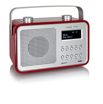 Tangent T-DAB2GO-BT/RD Radio portable Rouge