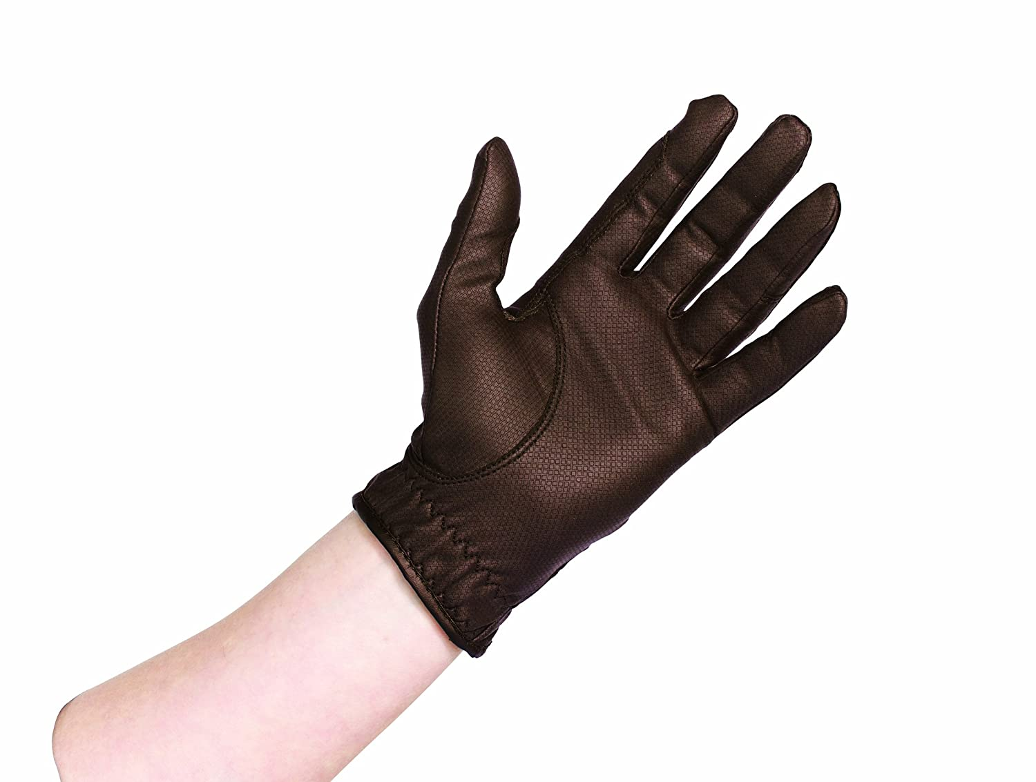 Caldene Competition Riding Glove - Brown, X-Large adidas brown ibjjf competition rashguard s br