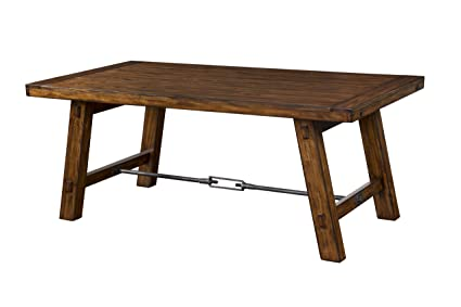 Sunny Designs Vineyard Dining Table with Turn Buckle