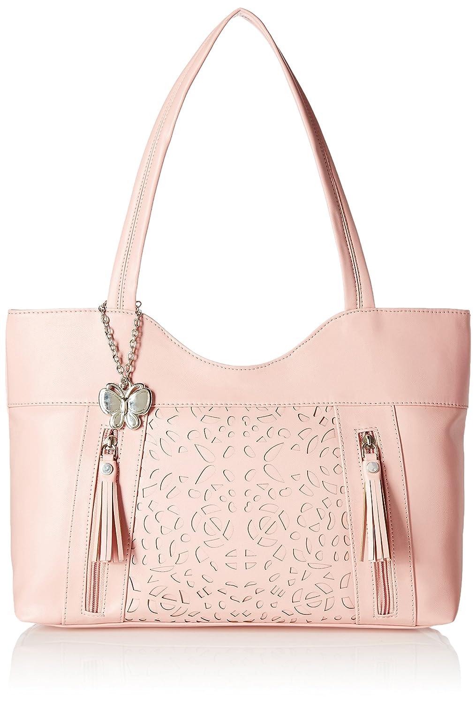 UPTO 70% off On Butterflies Handbags By Amazon | Butterflies Women's Handbag (Peach) (BNS 0588PCH) @ Rs.1,499