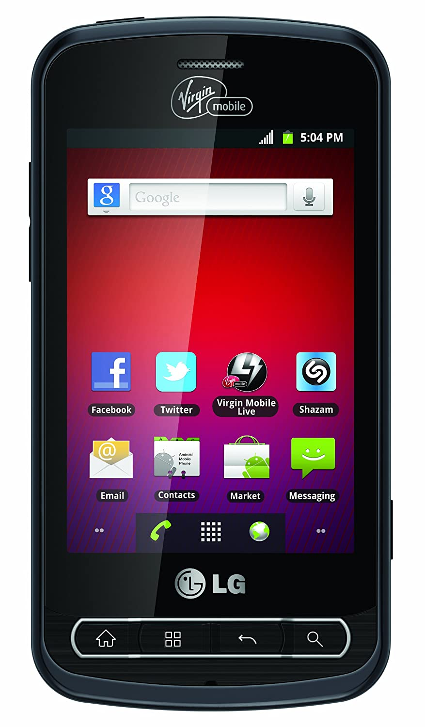 LG Optimus Slider Prepaid Android Phone (Virgin Mobile)