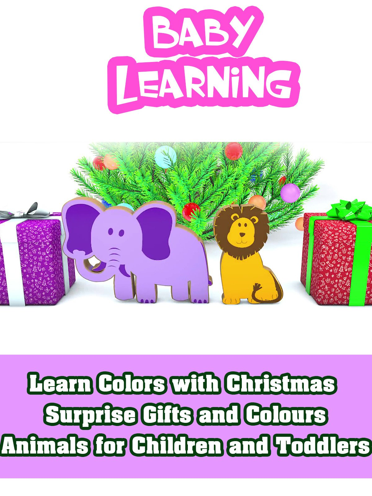 Watch \'Learn Colors with Christmas Surprise Gifts and Colours ...