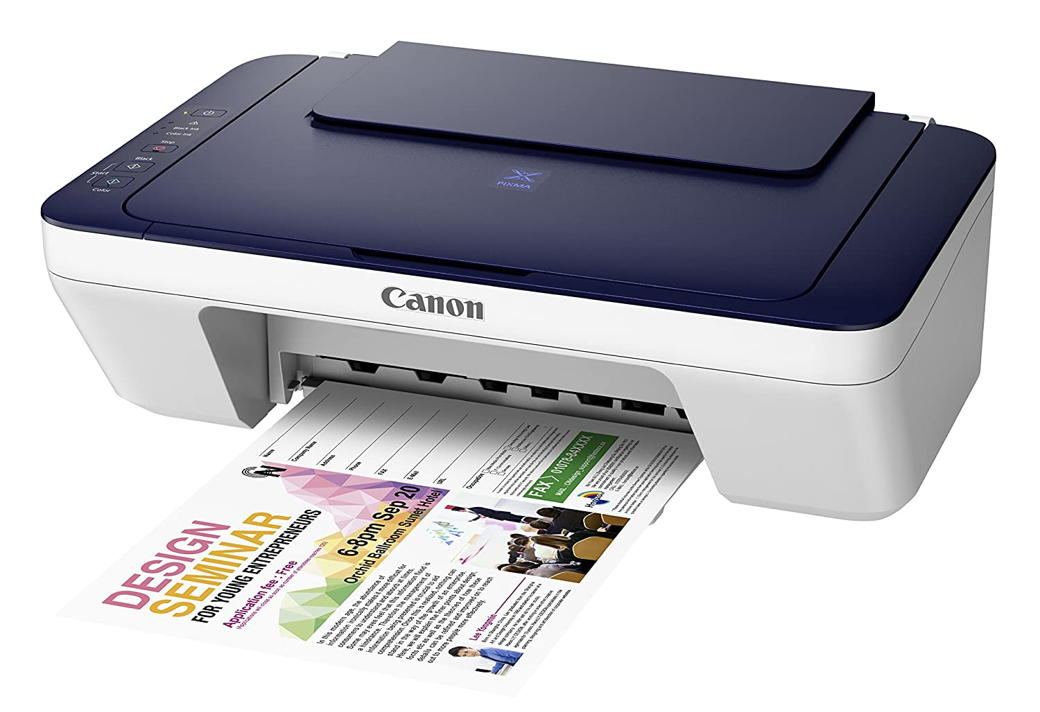 Choose the Right Printer that First Your Need!!  Upto 35% Off On Printers By Amazon | Canon Pixma MG2577s All-in-One InkJet Printer (Blue/White) @ Rs.2,399