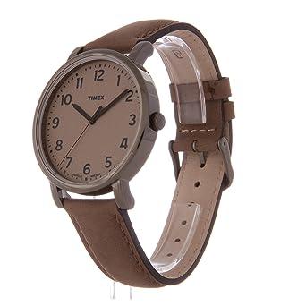 montre homme timex bracelet cuir
