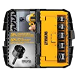 DEWALT Hole Saw Kit, Impact Ready, 5-Piece (D1800IR5)
