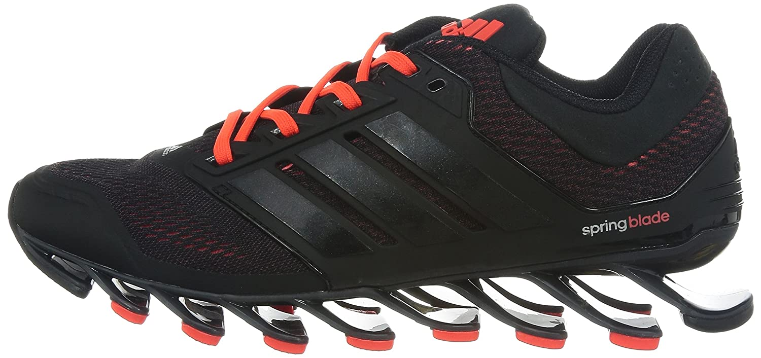 best service ee2fc 88b24 ... reduced adidas mens springblade drive m cherry black and solar red  polyester running shoes 6 uk