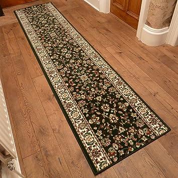 Carpet Runners Long Long Tapis De Couloir Et D 39 Escalier D 39 Escalier Vert Sombre
