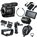 Canon EOS C200 EF Cinema Camera #2215C002 (International Model) No Warranty Body Only (Color: Base, Tamaño: Body)
