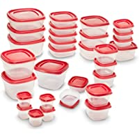 Rubbermaid Easy Find Lids 60Pc. Food Storage Container (Red)