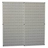 Wall Control 30-P-3232G Gray Metal Pegboard Pack