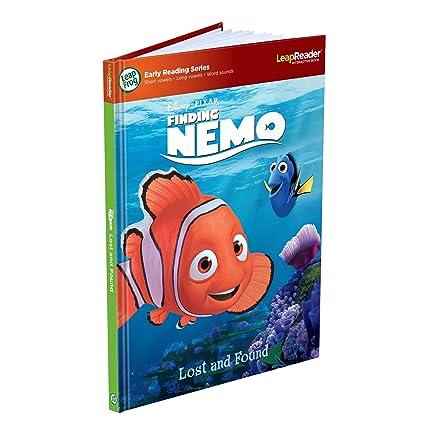 AmazonSmile: LeapFrog LeapReader Disney/Pixar Finding Nemo 3D Book (Works with Tag): Toys & Games