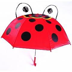 Ladybug Umbrella Red/Black