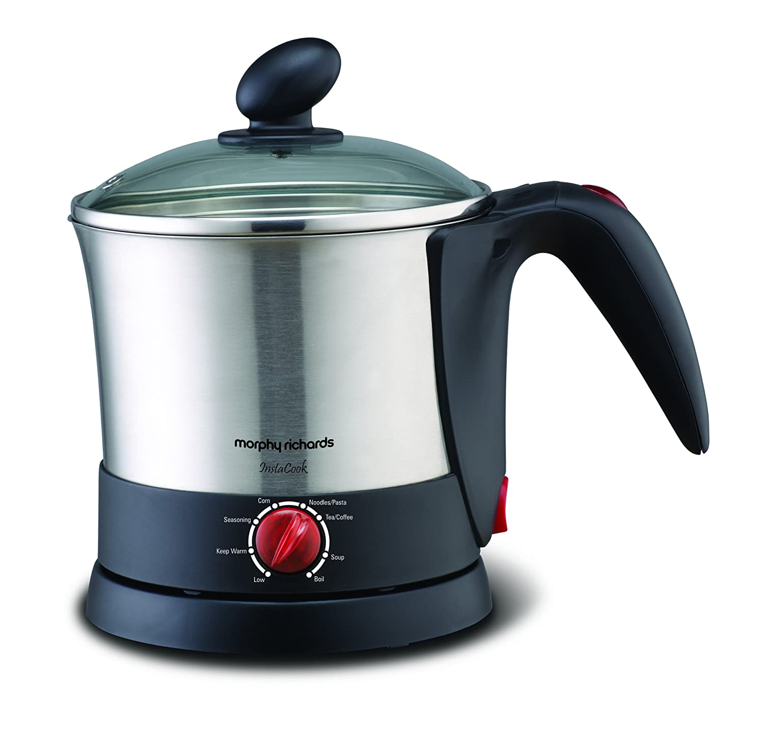 Morphy Richards InstaCook 1-Litre Stainless Steel Electric Kettle
