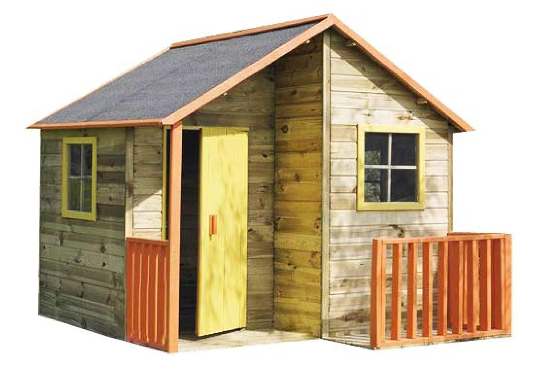 Kinderspielhaus TOM Kinderhaus Gartenhaus Gartenhäuser Spielhaus Stelzenhaus für Kinder online kaufen