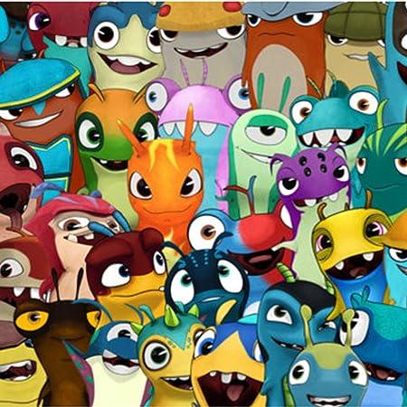 LOT de 5 figurines Monstres Slugterra Slug