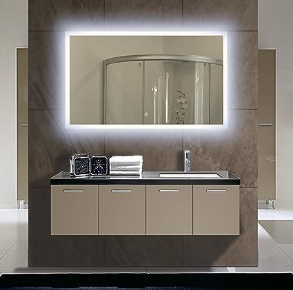 Backlit Bathroom Mirror 40 X 24 In