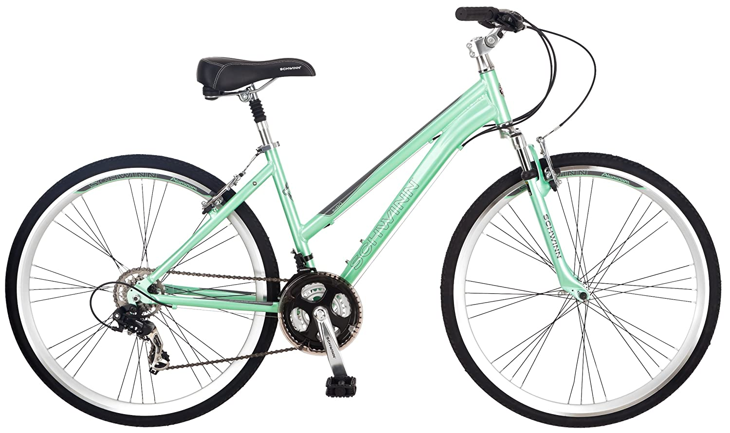 Best Hybrid Bikes For Women Amazon com Schwinn Women s